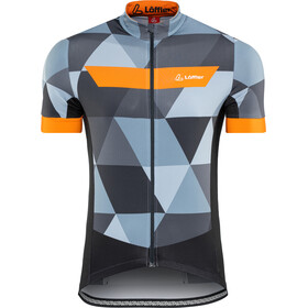 Löffler Metric Bike Jersey Full-Zip Men, orange